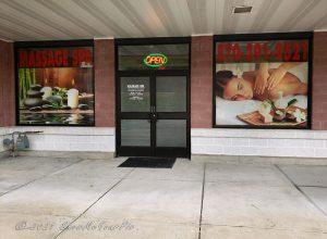 Massage Spa storefront